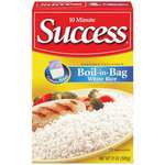 Success White Boil-In-Bag Rice