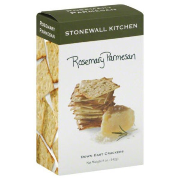 Stonewall Kitchen Rosemary Parmesan Down East Crackers