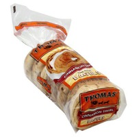 Thomas Bagels Cinnamon Swirl - 6 CT
