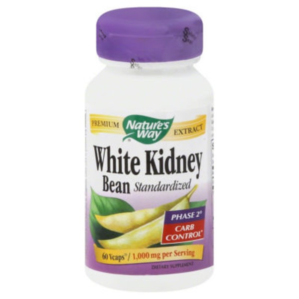 Nature's Way Standardized White Kidney Bean - 60 CT