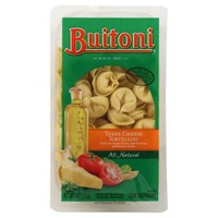 Buitoni Freshly Made. Filled with Creamy Ricotta, Aged Parmesan and Romano Cheeses Three Cheese Tortellini