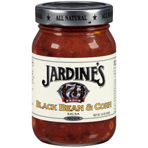 Jardine's 7J Ranch Black Bean & Corn Medium Salsa