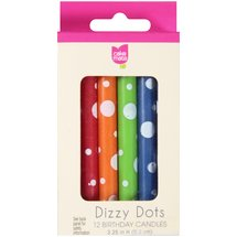 Cake Mate Dizzy Dots Birthday Candles