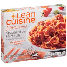 Stouffer's Lean Cuisine One Dish Favorites w/Meatballs & Sauce Spaghetti