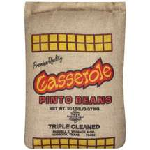 Casserole Dried Pinto Beans Shelf Stable