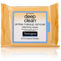 Neutrogena Oil-Free Deep Clean Makeup Removing Wipes