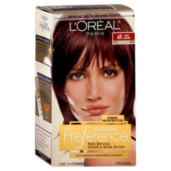 Superior Preference Warmer 4R Dark Auburn Hair Color