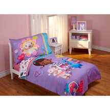 Disney Doc McStuffins Good as New 4pc Toddler Bedding Set