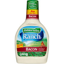 Hidden Valley Original Ranch Salad Dressing Bacon Ranch 24 Fluid Ounces