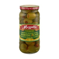 Mezzetta Imported Spanish Queen Marinated with Dry Vermouth Martini Olives