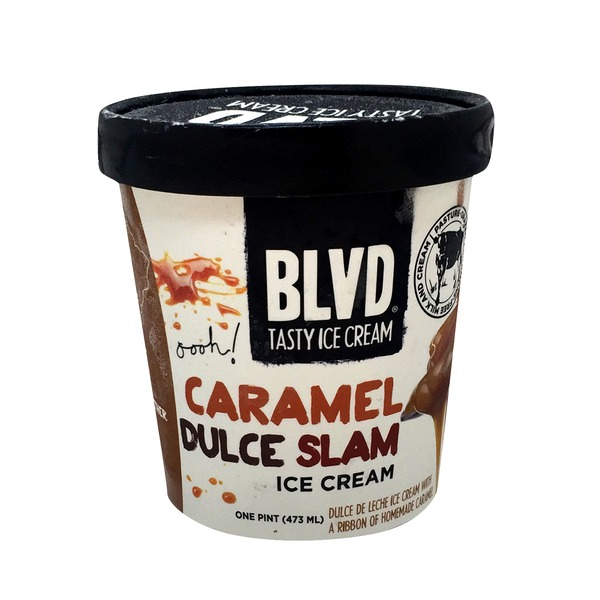 BLVD Tasty Ice Cream Caramel Dulce Slam Ice Cream