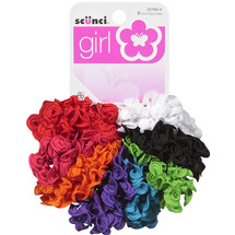 Scunci Girl Bright Twister Scrunchies