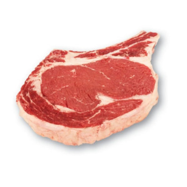 Fresh Bone In Ribeye Steak, USDA Select Beef