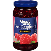 Great Value Red Raspberry Preserves