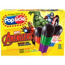 Popsicle Super Heroes Pop 1.6 Oz Ice Pops