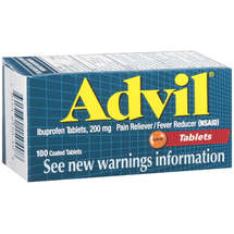 Advil Ibuprofen Tablets 200 Mg Pain Reliever/Fever Reducer (Nsaid) Advil