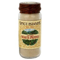 Spice Islands Ground White Pepper