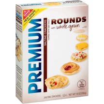 Nabisco Premium Rounds Whole Grain Saltine Crackers