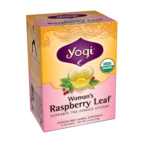 Yogi Woman's Raspberry Leaf Tea Bags - 16 CT