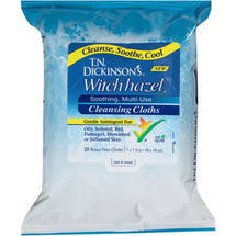 T.N. Dickinson's Witch Hazel Soothing Multi-Use Cleansing Cloths