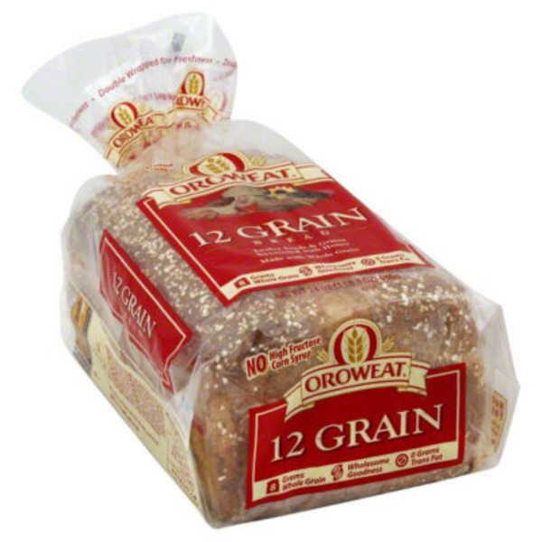 Oroweat 12 Grain Bread