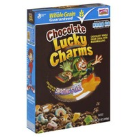 Lucky Charms Chocolate with Mixed-Up Marshmallows Cereal