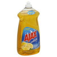 Ajax Super Degreaser Dish Soap Lemon