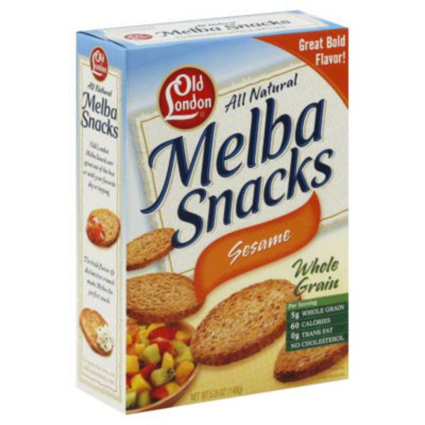 Old London Sesame Melba Snacks
