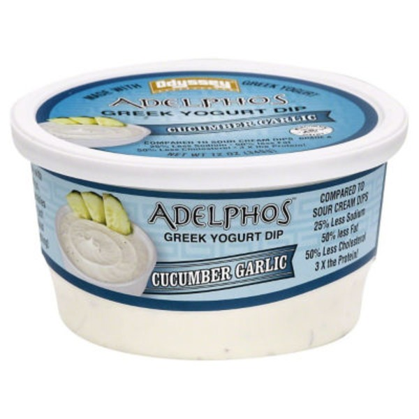 Adelphos Cucumber Garlic Greek Yogurt Dip