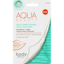 Body Benefits by Body Image Aqua Beauty Skin Conditioning Cloth Facial Mask