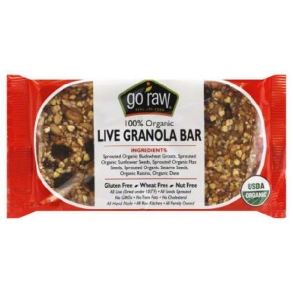 Go Raw Raisin Crunch Sprouted Bar