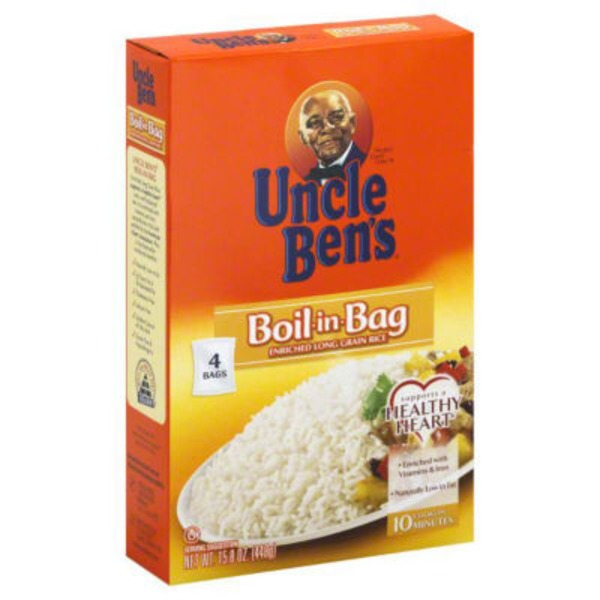 Uncle Ben's Boil-In-Bag Enriched Long Grain Rice - 4 CT