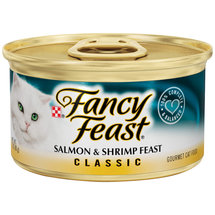 Fancy Feast Gourmet Salmon & Shrimp Feast Cat Food