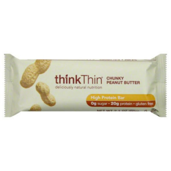 thinkThin High Protein Bar Chunky Peanut Butter