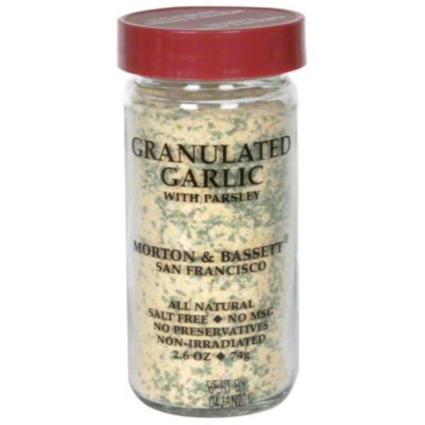 Morton & Bassett Spices Granulated Garlic with Parsley