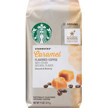 Starbucks Natural Fusions Caramel Ground Coffee