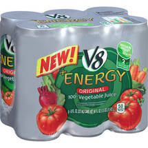 V8+Energy Original 100% Vegetable Juice