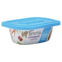 Beneful Chopped Blends With Beef Carrots Peas & Barley Dog Food