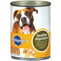 Pedigree Healthy Digestion Premium Ground Entree Food For Dogs
