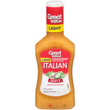 Great Value Light Italian Dressing