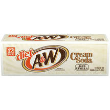 A&W Diet Cream Soda
