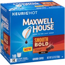 Maxwell House Smooth Bold Ground Coffee K-Cup Pods