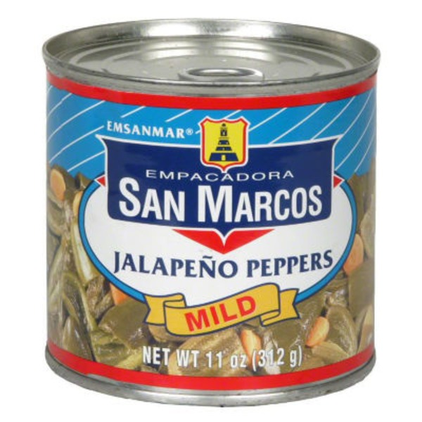 San Marcos Japapeno Peppers, Mild