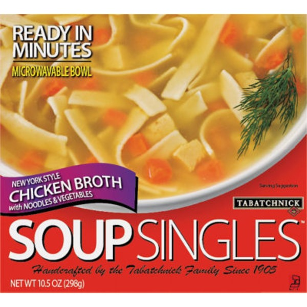 Tabatchnick New York Style Chicken Broth With Noodles And Vegetables