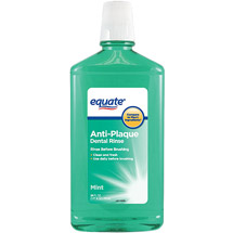 Equate Anti-Plaque Mint Dental Rinse