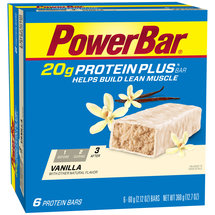 PowerBar Vanilla 20 g Protein Plus Bars