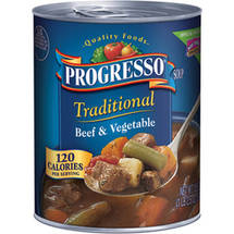 Progresso Heart Healthy Beef & Vegetable Soup