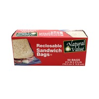 Natural Value Reclosable Sandwich Bags
