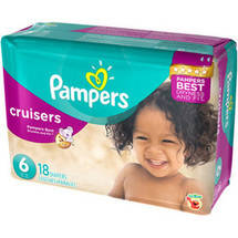 Pampers Cruisers Diapers Jumbo Pack  Size 6