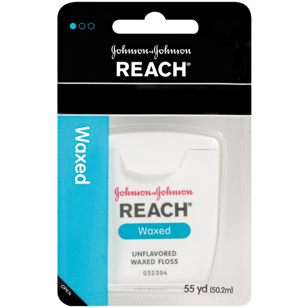 Reach® Waxed Floss Interdental